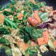春キャベツと豚肉のマサラ