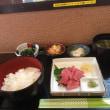 亀戸  マグロ定食!