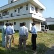 『天体観測バルコニーのある家』・・・・現場調査  静岡県焼津市 重量鉄骨3階建て住宅