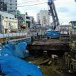 シモキタ再開発  07/2018:  OZEKI前、旧大踏切付近に変化