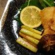 白身魚バター焼