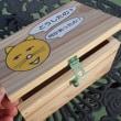 子供達の木工支援、「どうしたニャン小箱」作り