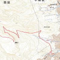 ネオパラ山のGPSトラック(全ルート)