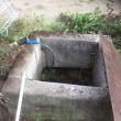 井戸を発見