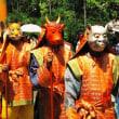 <奈良・霊山寺> 華やかに薔薇会式・えと祭り