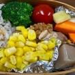 豚バラ肉のエノキ巻き弁当