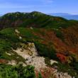 大展望の稜線-長野県宮田村:木曽駒ケ岳