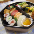 寒くなったけれど、、お寿司を頂きました。