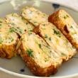 外食&トンカツ&ちりめん山椒ご飯&鶏胸肉のピカタ・ジェノヴェーゼソース