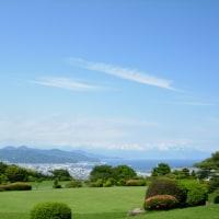 日本平ホテルからの眺め。