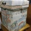 スツール型のインテリア茶箱