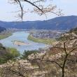 能代市二ツ井町きみまち阪自然公園の桜とパワースポット七座山