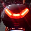 トップケースに ブレーキ連動 LED を追加