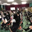 吹奏楽部 コンクールに向けての合同練習