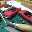 ミニカーを作り始めました。オープンカー専門