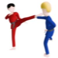 スト2の裏技で小足払いアッパーの連続技と昇竜拳の出し方