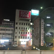 夜の近鉄八木駅