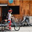 本当に自転車の多い中崎町