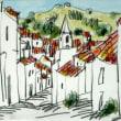 1654.カステロ・デ・ヴィデの町角