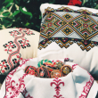 はじめてウクライナ刺繍を主役にした展示会の時のDM用写真です