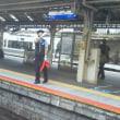 2時9分発の姫路、網干行きの新快速に乗りました