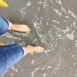 豊川にてランチから海へ