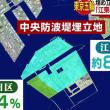 東京湾の中央防波堤埋立地帰属区は江東区86%