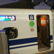 初めての新幹線グリーン車