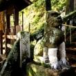 <長崎・諏訪神社> 境内に個性的な狛犬の数々!