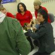 外国語教室でのロケ。What do you think about Kokedama?ってインタビューしてました。10年前の出来事。