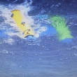 【海洋発電:黄色と青がイメージカラーに使われてますね】以外と単純に捉えたが分かりやすいかもね