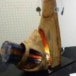 犬山図書館で木彫り展