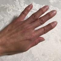 Farmer's hand