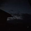 雲はあるけれど金星見えて