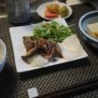 牛肉と水菜の炒め煮でごはん