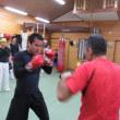 今年初めのボクシング教室