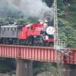 大井川鉄道を走るジェームス機関車!!超かわいかったです(#^^#)
