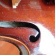 バイオリンにあるラベル