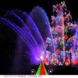 カラー・オブ・クリスマスのクリスマスツリー 東京ディズニーシー