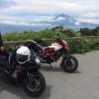 1日2回、バイクで富士山に登る。