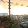 浜松市東区の夕焼けとEF66貨物列車 (天竜川-浜松)