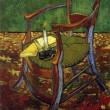 ゴッホ(4)「ゴーギャンの椅子」