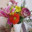 9月花材と開店花