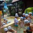 みどり 4歳児 絵画☆水風船