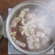 今日のホッピー  美味しいもつ鍋☆博多の名物