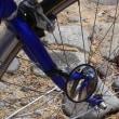 自転車のハンドルを衣替え