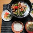 豚肉と野菜炒めのみちのくひとり鍋、大衆食堂炊屋定食・・・