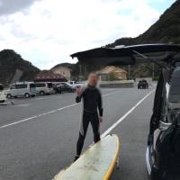 台風明けのサーフィンの話