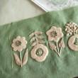 刺繍 - アップリケ刺繍・続き