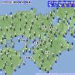 11月20日 アメダスと天気図
